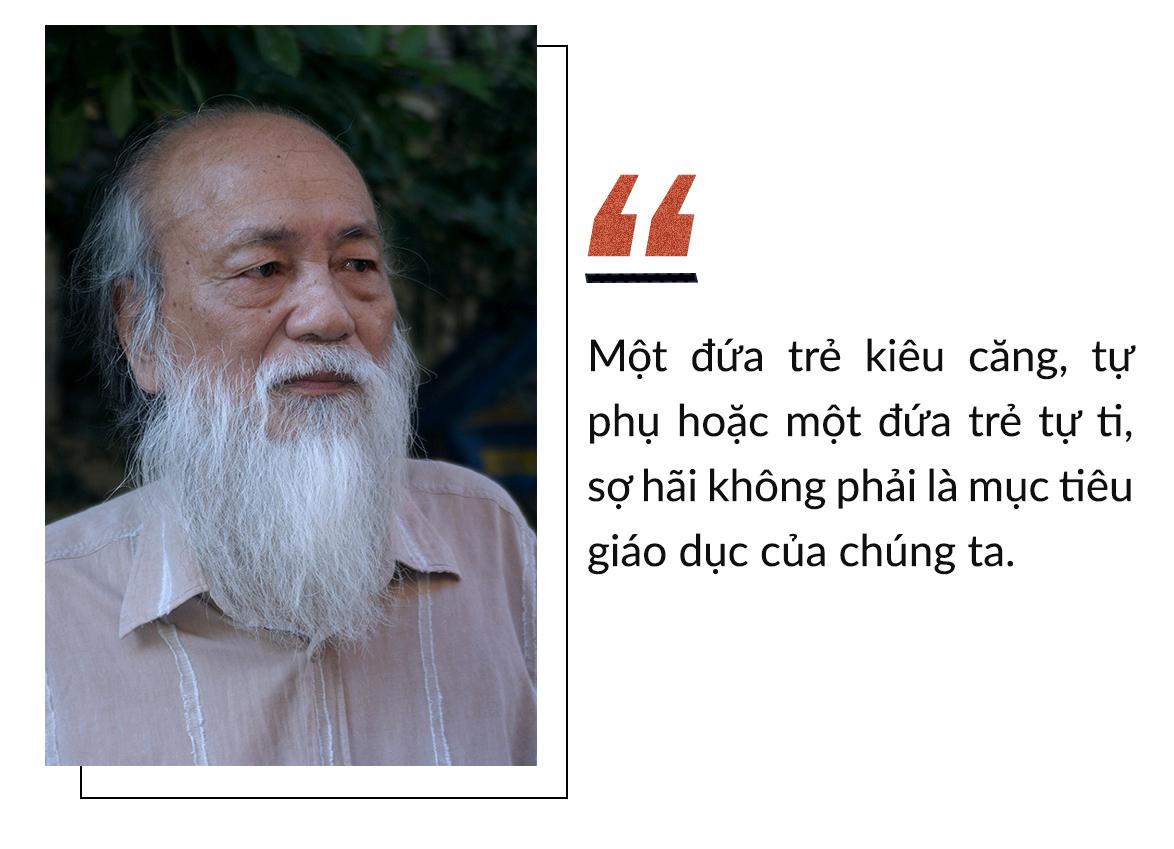 Thầy Văn Như Cương và những phát ngôn 'để đời'