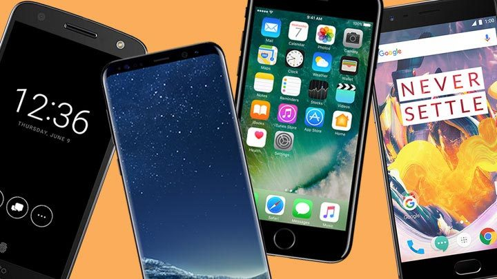 iPhone 7, iPhone 7 Plus, Apple, Samsung, Galaxy S8, Galaxy S7, Galaxy S8 Plus, Samsung, smartphone