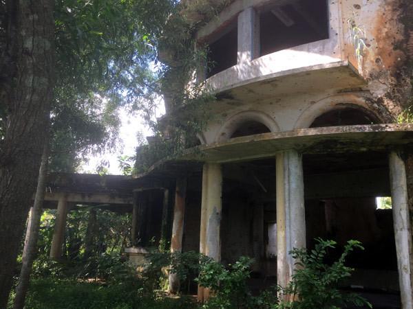Bên trong biệt thự kiểu Pháp bị bỏ hoang hơn 40 năm ở Đồng Nai - ảnh 2