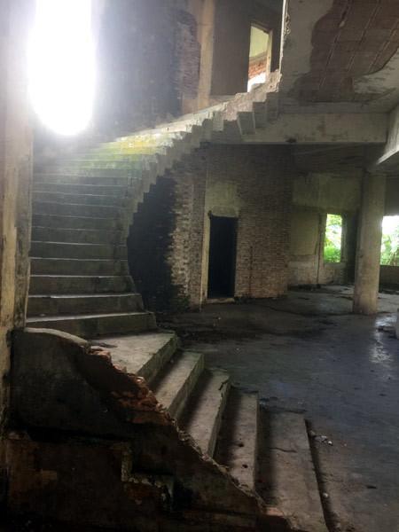 Bên trong biệt thự kiểu Pháp bị bỏ hoang hơn 40 năm ở Đồng Nai - ảnh 5