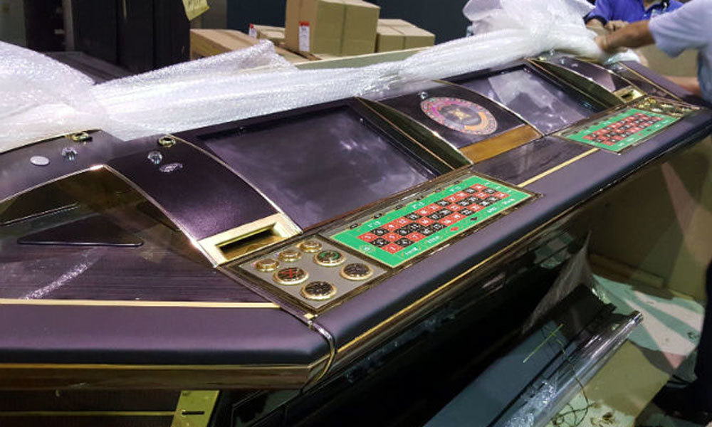 máy đánh bạc, TP.HCM, đánh bạc, điện tử