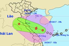 Áp thấp giật cấp 9 đổ bộ Hà Tĩnh - Quảng Bình