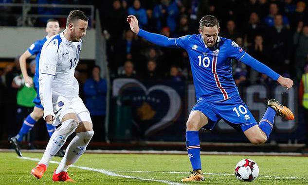 Lập kỳ tích, Iceland lần đầu tiên trong lịch sử dự World Cup