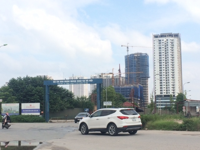 quy hoạch thủ đô, băm nát quy hoạch, khu đô thị mới, khu ngoại giao đoàn, điều chỉnh quy hoạch, nâng tầng, tăng mật độ xây dựng, Thanh tra Bộ Xây dựng,UBND Hà Nội