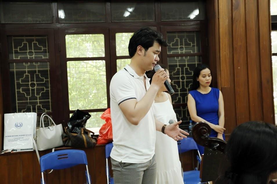 Đăng Dương tất bật tập luyện cho liveshow để đời