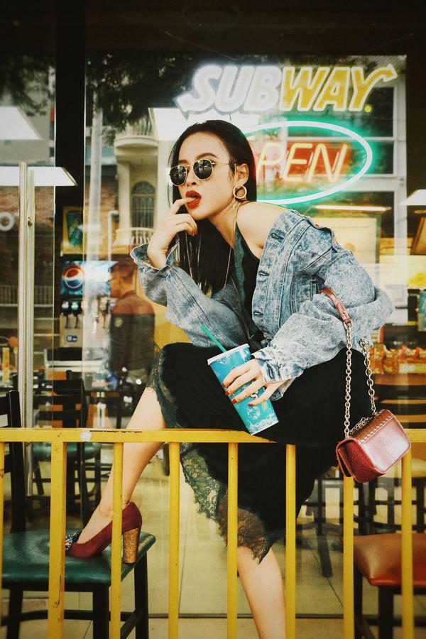 Angela Phương Trinh tung bộ ảnh đầy phá cách