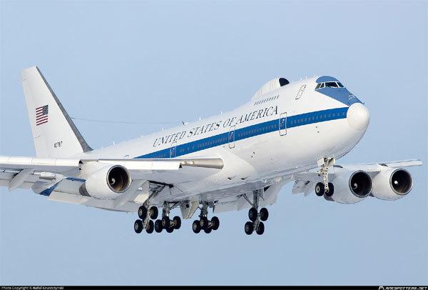 Ảnh hiếm trong máy bay Ngày Tận thế của Mỹ