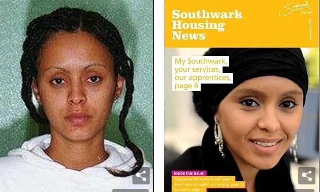 khủng bố, Anh, nữ khủng bố
