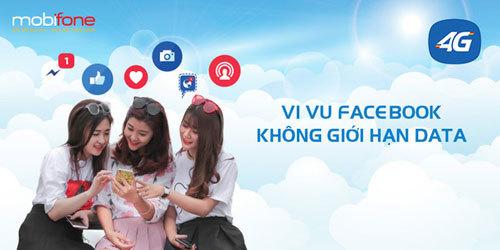 Lướt Facebook chỉ 20.000đ/tháng với MobiFone