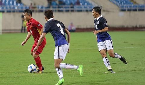 Việt Nam 1-0 Campuchia: Đinh Thanh Trung mở tỷ số