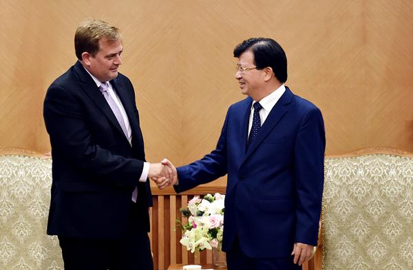 Phó Thủ tướng Trịnh Đình Dũng, Trịnh Đình Dũng, dầu khí, khai thác dầu khí, Cá Voi Xanh, Exxon Mobil