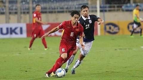 Việt Nam 4-0 Campuchia: Công Phượng ghi bàn