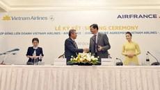 Vietnam Airlines hợp tác với hàng không quốc gia Pháp