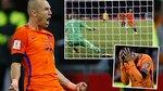 Robben sáng rực, Hà Lan vẫn bị loại tức tưởi