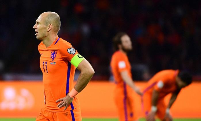 Hà Lan,Thụy Điển,Robben,World Cup 2018