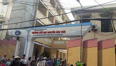 Trường tiểu học trả lại 250 triệu đồng thu trái tuyến