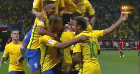 Brazil 3-0 Chile