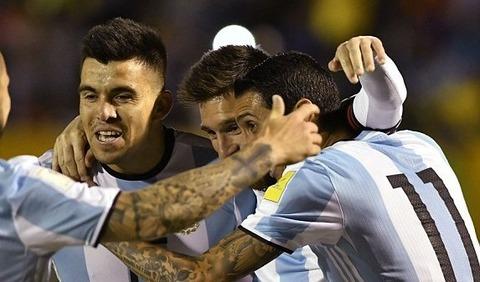 Ecuador 1-3 Argentina