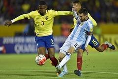 Video bàn thắng Ecuador 1-3 Argentina