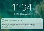 Cảnh báo đánh cắp mật khẩu Apple ID