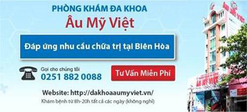 Phòng khám Âu Mỹ Việt với cách chữa bệnh hiện đại