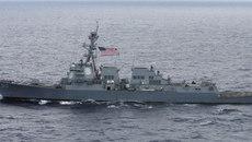 Tàu chiến Mỹ lượn sát quần đảo Hoàng Sa