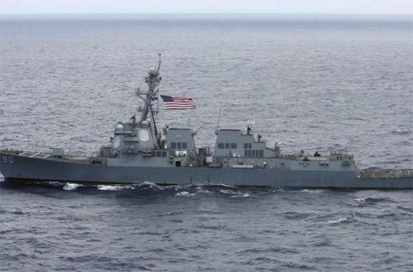 Tàu chiến Mỹ, Quần đảo Hoàng Sa