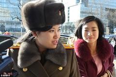 Nữ ca sĩ ban nhạc do Kim Jong Un lập được thăng chức