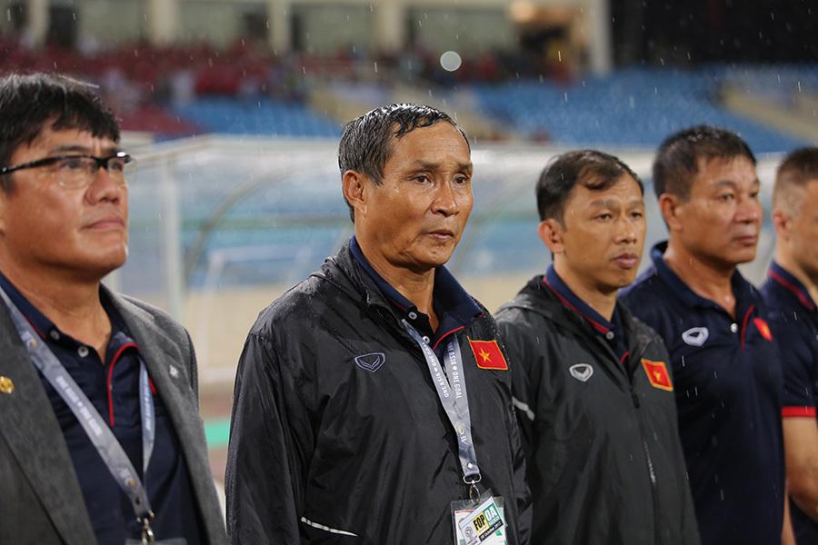 Tuyển Việt Nam, HLV Park Hang Seo, HLV Mai Đức Chung, VFF