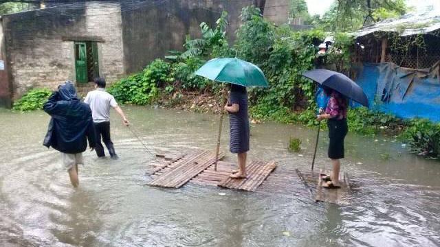 mưa lũ,Thanh Hóa,thị sát ngập lụt