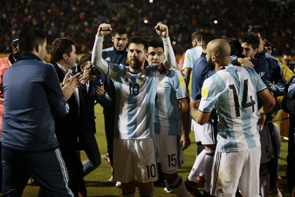 Messi, Argentina, Ecuador, World Cup 2018