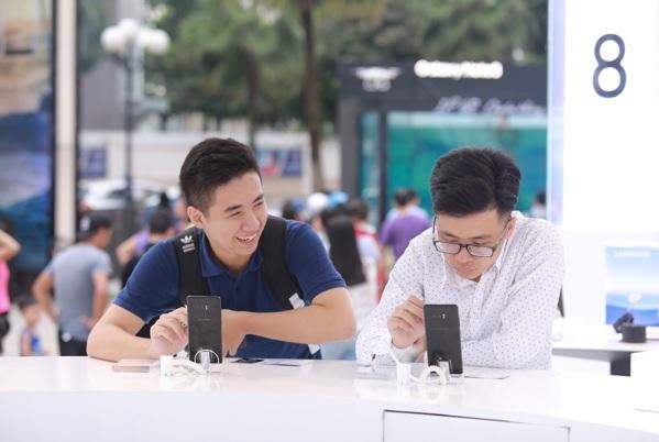 trải nghiệm, Galaxy Note 8,