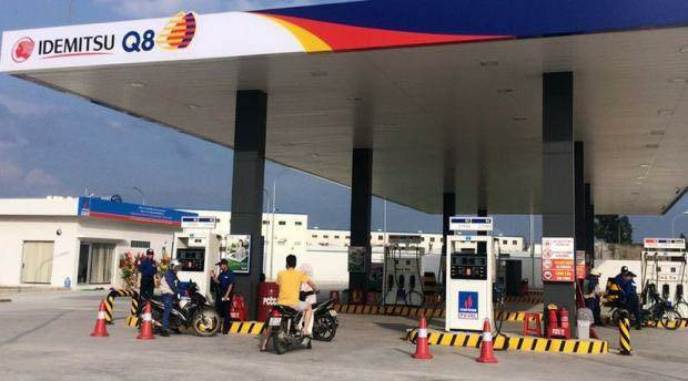 xăng dầu,giá xăng dầu,tin giả,trạm xăng nhật