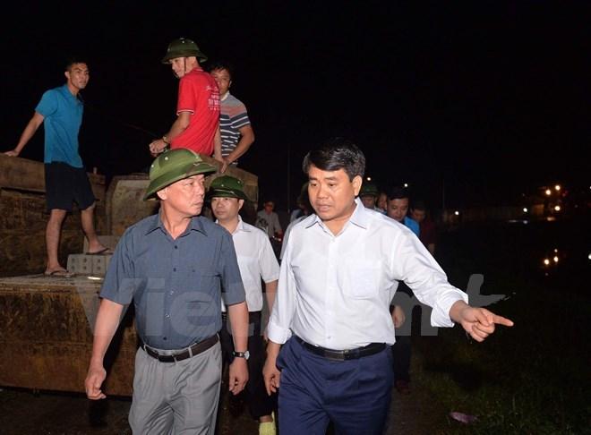 lũ, mưa lũ, lũ lụt, Chủ tịch UBND Hà Nội Nguyễn Đức Chung, Nguyễn Đức Chung