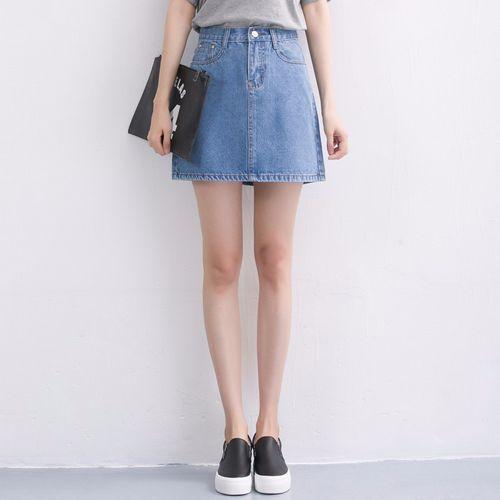 5 kiểu chân váy jean không thể bỏ qua