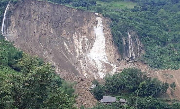 mưa lũ, lũ lụt, ngập lụt, sạt lở, Hòa Bình