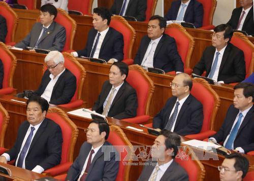 Nguyễn Xuân Anh,Hội nghị Trung ương 6,Vũ Khoan