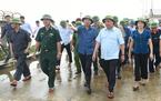 Hủy mọi cuộc họp, Thủ tướng chỉ đạo hộ đê tại Ninh Bình