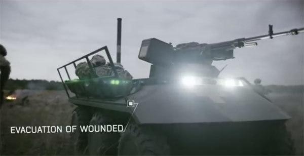 Xem robot đeo đầy vũ khí chiến đấu, sơ tán người