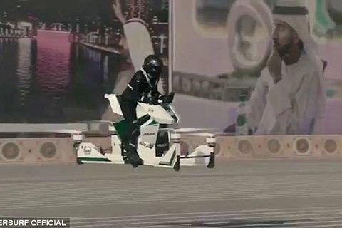 Chiêm ngưỡng xe bay tối tân của cảnh sát Dubai