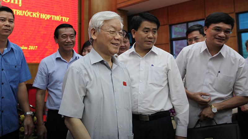 Tổng bí thư,Nguyễn Phú Trọng,Nguyễn Xuân Anh,kỷ luật cán bộ,kỷ luật Nguyễn Xuân Anh