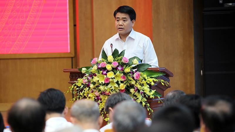 Chủ tịch Hà Nội, Nguyễn Đức Chung, 8B Lê Trực, sai phạm nhà 8B Lê Trực