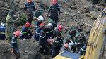Sạt lở ở Hòa Bình: Còn 9 người bị vùi trong đống đổ nát