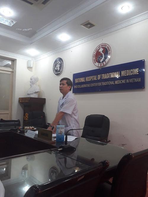 PGS.TS Vũ Nam - Giám đốc bệnh viện