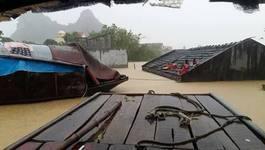 Mưa lũ chưa từng có: Vỡ hồ trạm bơm Gia Viễn, Ninh Bình