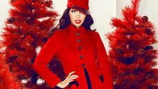 5 bí quyết phối đồ với áo khoác dáng dài đi chơi Noel