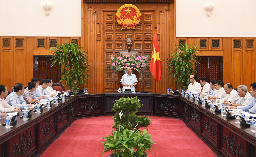 Thủ tướng Nguyễn Xuân Phúc, Nguyễn Xuân Phúc, PVN