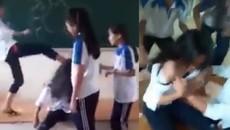 Nữ sinh bị bạn lột áo tại lớp: Sẽ xử lý kỷ luật, quy rõ trách nhiệm
