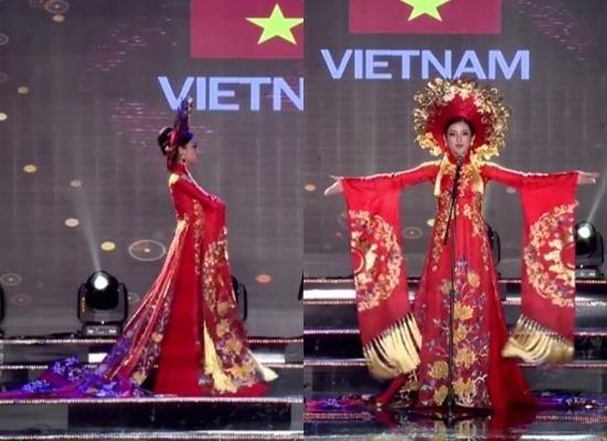 Hoa hậu Mỹ Linh dầm mưa, lội bùn giữa tâm lũ