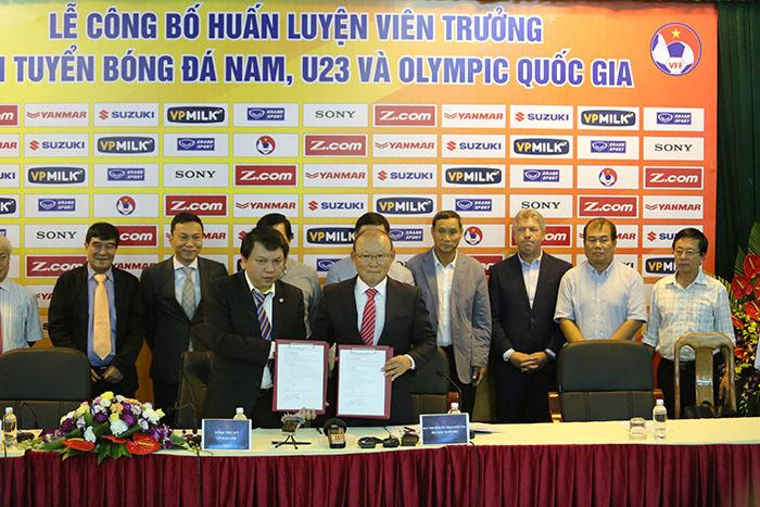 HLV Park Hang Seo, tuyển Việt Nam, VFF